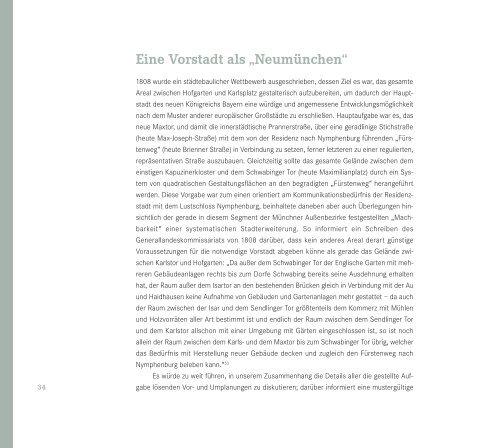 Maxvorstadt - Zeitreise ins alte München