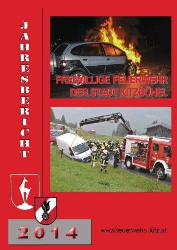Jahresbericht 2014 der Stadtfeuerwehr Kitzbühel