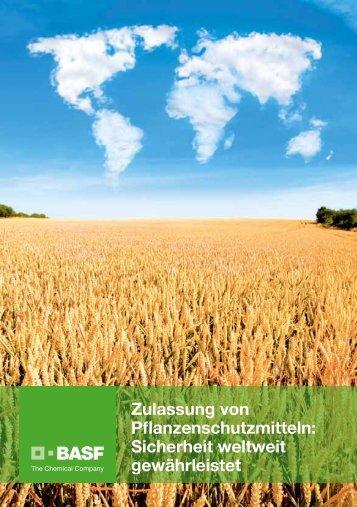 Zulassung von Pflanzen schutzmitteln ... - BASF Crop Protection