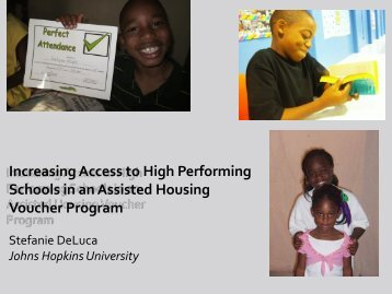 Increasing Access to High Performing Schools in an Assisted