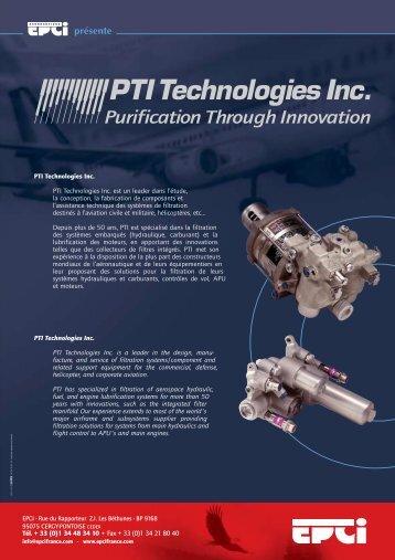FLYERS 2003 - EPCI ENGINEERING