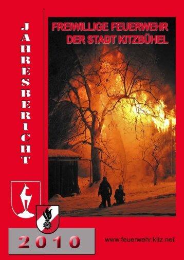Jahresbericht 2010 der Stadtfeuerwehr Kitzbühel