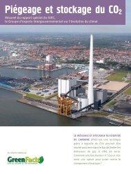 Piégeage et stockage du CO2 - GreenFacts