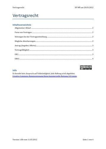 Unternehmensformen Im Fahrschulwesen Vertragsrecht