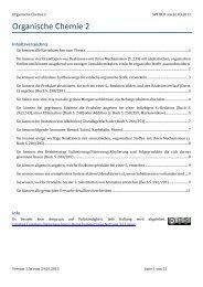 Organische Chemie 2 - limenet.ch