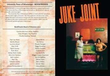 BOOKFRIENDS JUKE JOINT Membership Party - University Press of ...
