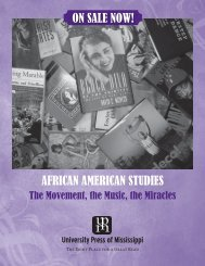 african american studies on sale now! - University Press of Mississippi