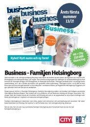 HBG Business Region 2013 Säljbrev.indd - Prislista | hd.se