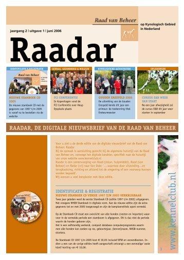 www .kennelclub.nl - Raad van Beheer