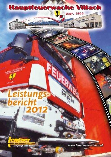 Jahresbericht - Hauptfeuerwache Villach