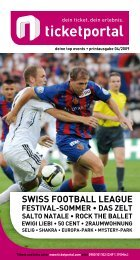 SwISS FooTball league - ShoWare Admin - Login
