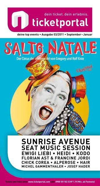 2 musicals & shows Salto