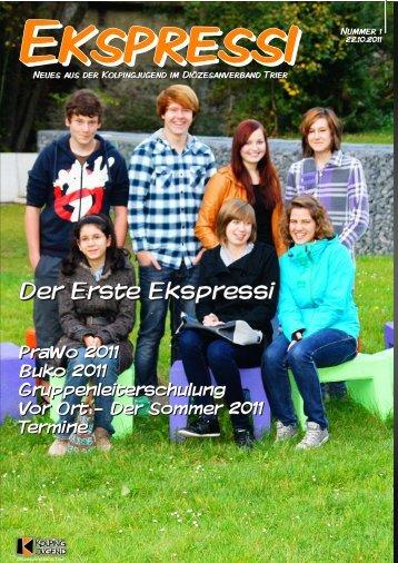 Der Erste Ekspressi - Kolpingjugend DV Trier