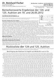 Ruecklos 125 ohne Adresse.vp - Dr. Reinhard Fischer Briefmarken ...