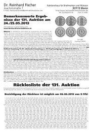 Ruecklos 131 ohne Adresse.vp - Dr. Reinhard Fischer Briefmarken ...