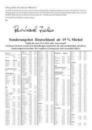 Sonderangebot Deutschland ab 19 % Michel - Dr. Reinhard Fischer ...