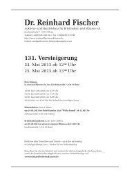 PDF des Auktionskatalogs der 131. Auktion anzeigen - Dr. Reinhard ...