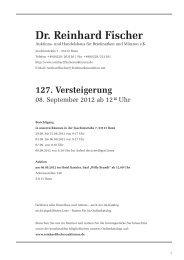3. - Dr. Reinhard Fischer Briefmarken Auktions