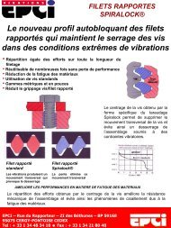 feuillet inserts cross.pdf - EPCI ENGINEERING