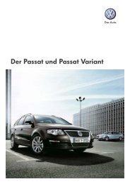 Der Passat und Passat Variant - Tauwald Automobile