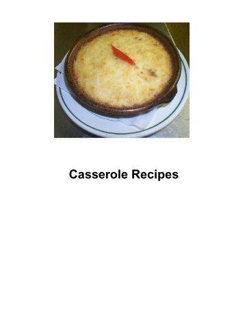 Casserole Recipes - DDV Culinary