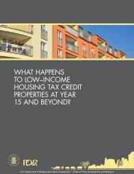 What Happens to Low Income Housing Tax Credit ... - HUD User