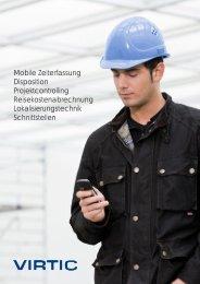 Mobile Zeiterfassung Disposition Projektcontrolling ... - virtic