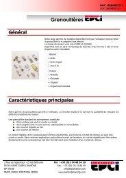 Grenouillères - EPCI ENGINEERING