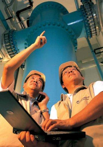水務署年報=2001 WSD ANNUAL REPORT 提高效率及生產力和品質 ...