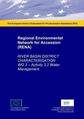 Workshop Report Water Management March ... - Renanetwork.org