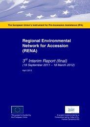 3rd Interim report September 2011- March 2012.pdf - Renanetwork.org