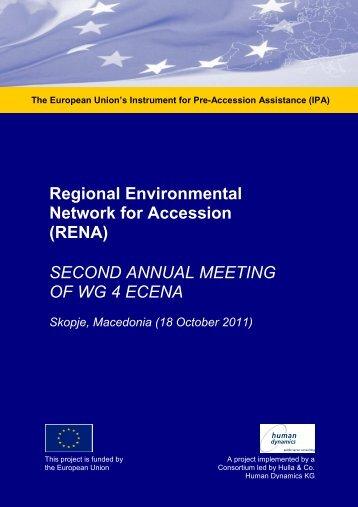 2nd Annual Meeting Skopje, Oct 2011.pdf - RENA