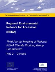 Third Annual Meeting of National RENA Climate ... - Renanetwork.org
