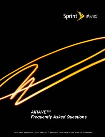 AIRAVE™ Frequently Asked Questions