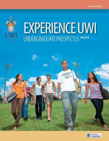 Undergraduate Prospectus - The University of the West Indies, St ...