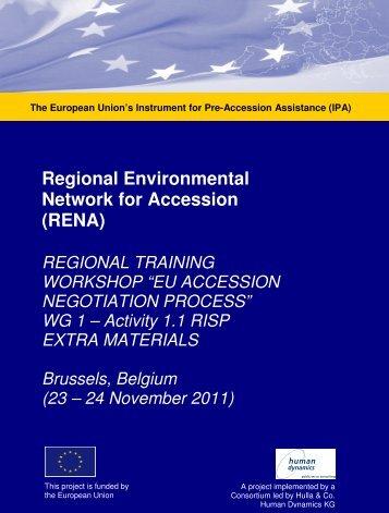 Extra Materials EU Negotiations Training Brussels Nov 2011 ... - RENA