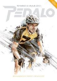 PEDALO Rennradreisen-Katalog 2015
