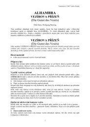 Alhambra: Vezírova přízeň