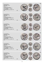 D Junius Silanus AR-Denarius, 4.00g. Rome, 91 BC Obv.: C ...