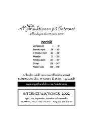 IT-auktion 14 - Mynthandeln.com