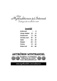 IT-auktion 17 - Mynthandeln.com