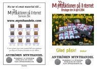 IT-auktion 22 - Mynthandeln.com