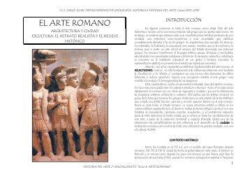 Arte Romano (pdf) - IES JORGE JUAN / San Fernando