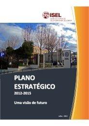 Plano Estratégico - ISEL