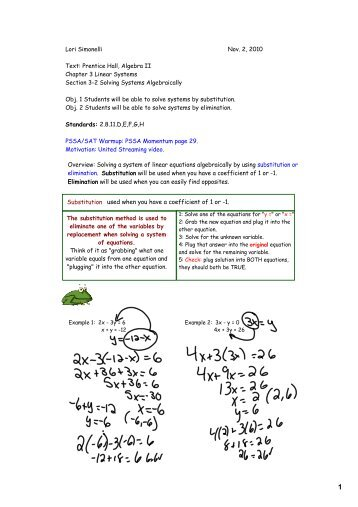 Worksheets Solving Systems Of Equations Algebraically Worksheet solving systems of linear equations worksheet math algebraically pdf www linear