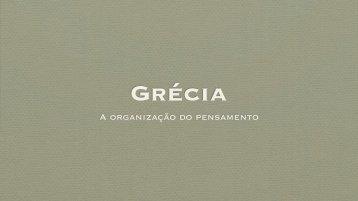 Grécia: Pensamento - Leonel Cunha
