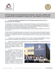 CIATEQ apoya a las empresas para obtener recursos y desarrollar ...