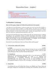 Musterabitur 2011 Aufgabe 1 - Martinklinkner.de