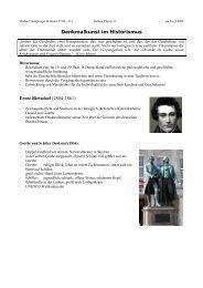 handout referat 11 PLASTIK Denkmalkunst im ... - Martinklinkner.de