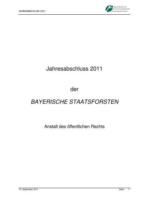 Seite - Bayerische Staatsforsten